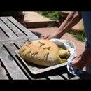 "Stromboli, ""VOLCANO"" bread"