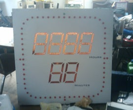 A Countdown Clock With LEDs
