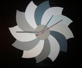 Paint Swatch Clock