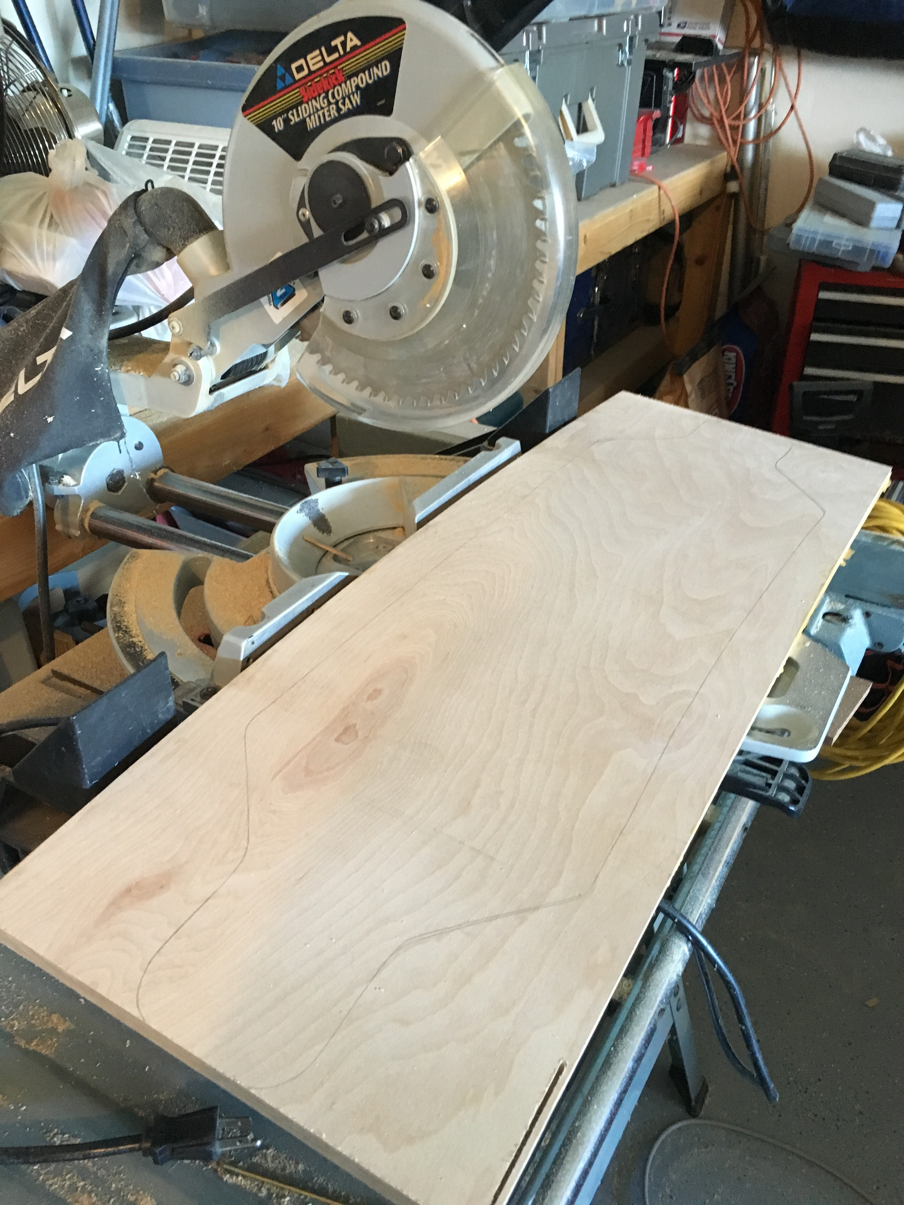 Picture of Cutting Out the Board