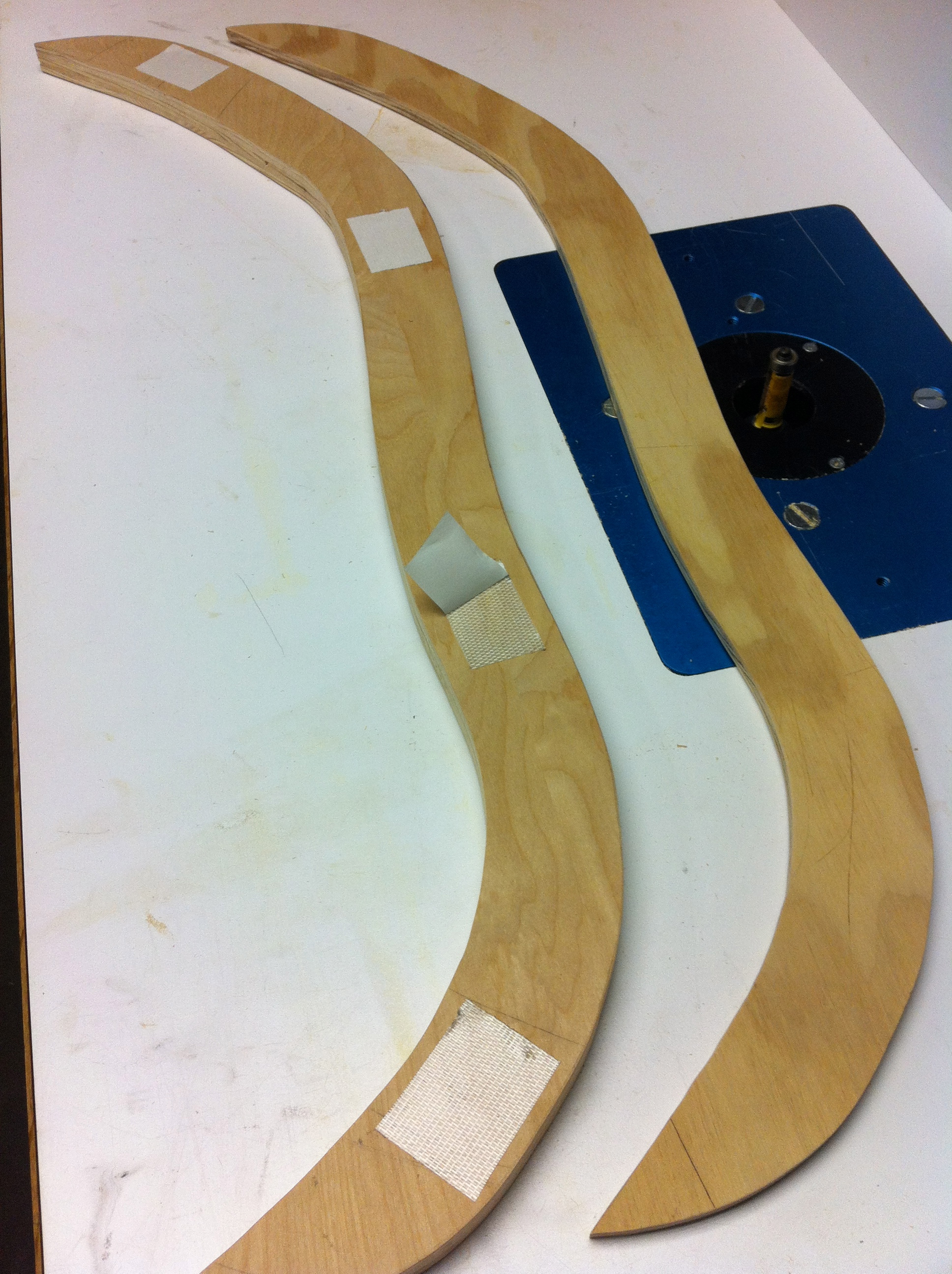 Picture of Using the Template With a Flush Trim Router Bit