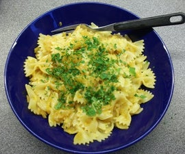 Pasta with Onions