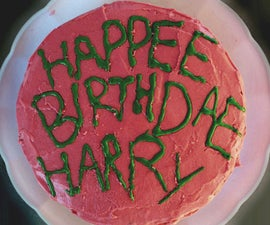Harry Potter's Birthday Cake AS SEEN IN THE MOVIE