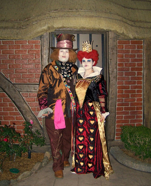 The Red Queen and Mad Hatter