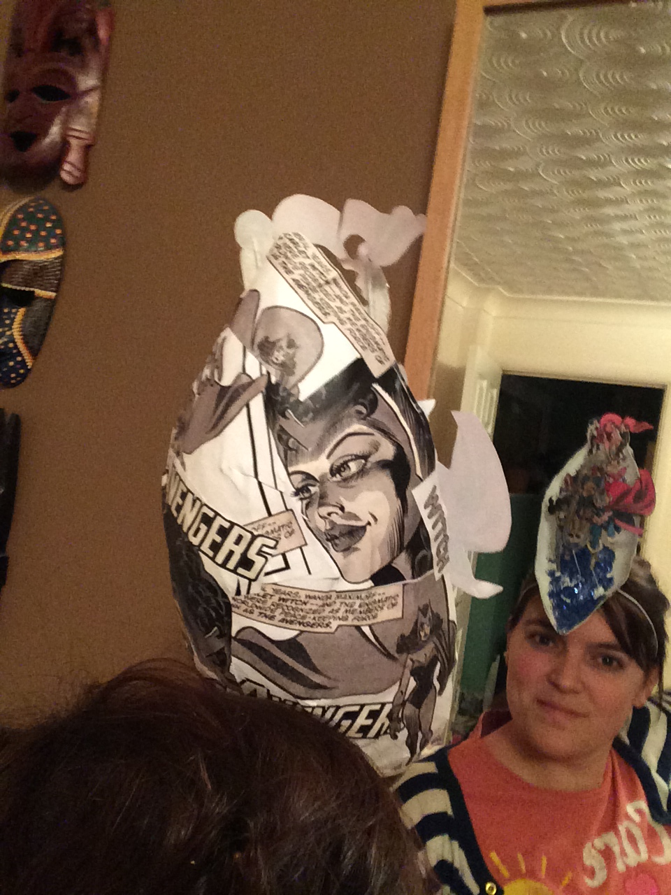 Picture of Paper Mache 3d Hat (Scarlet Witch)