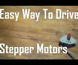 Easy Way to Drive Stepper Motors
