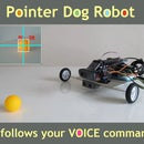 Pointer Dog Robot With RPi and Arduino
