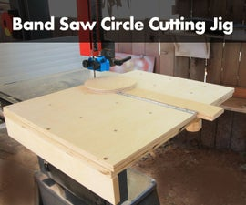 How To Make Circles on a Bandsaw