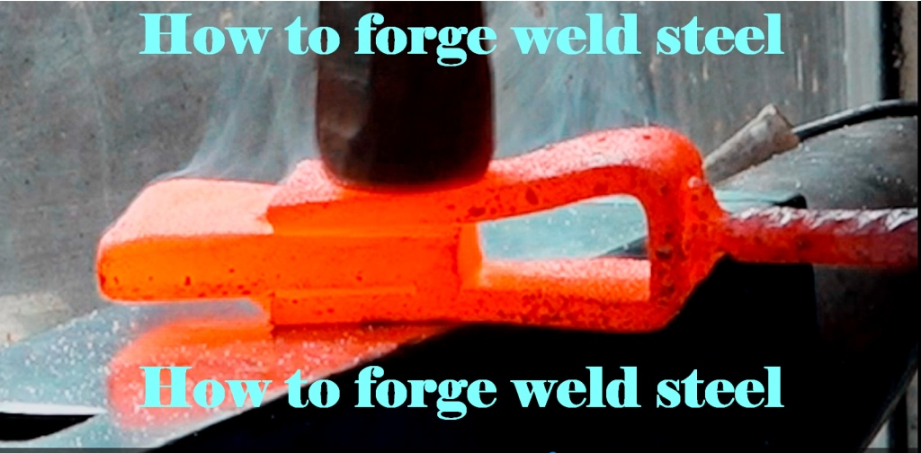Picture of How to Forge Weld Steel.