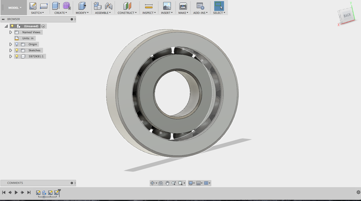 Picture of Import Bearing