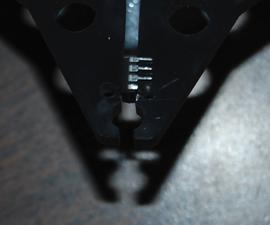 Fix a broken pin on an IC chip