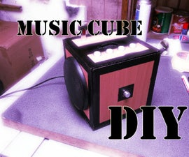 Music Cube, Inspired by Diresta Puzzle Box