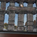 How to Build the Roman Aqueduct in Segovia, Spain With Yarn