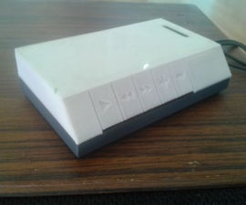 3D Printed Casing for Bluetooth Amplifier TDA7492P