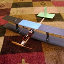 Homemade biplane