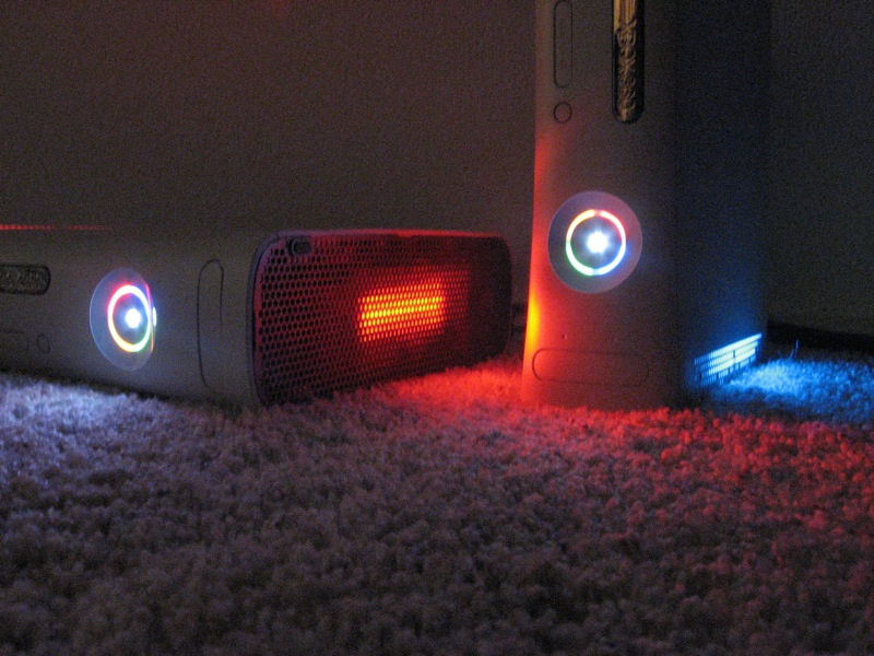 Picture of Xbox 360 Cold Cathode Lighting