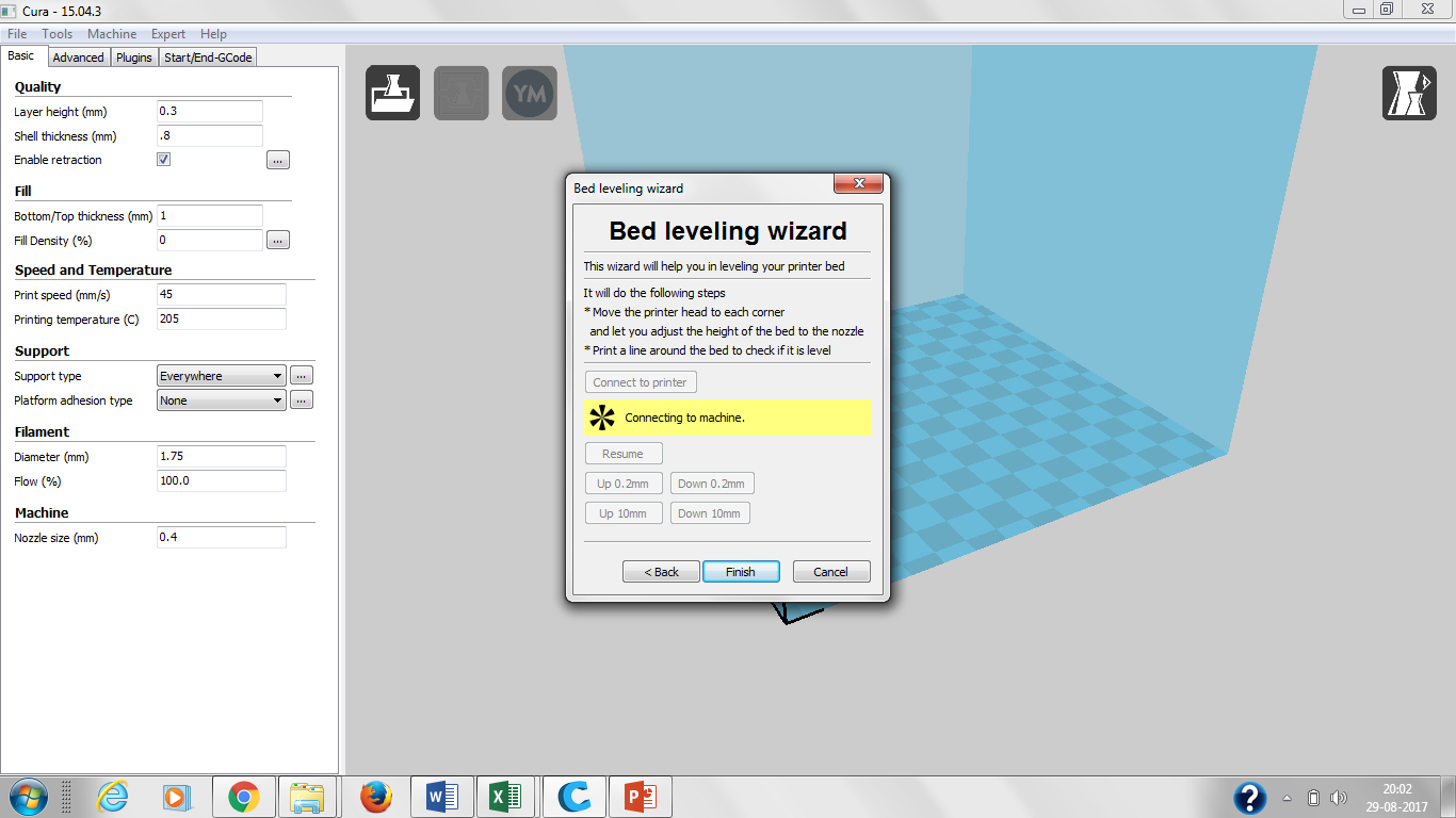 Picture of Open Cura on Your Laptop