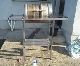 How to make your own beer keg BBQ barrel (without welding)