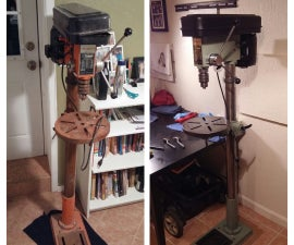 Drill Press Restoration (Refurbishing Techniques)