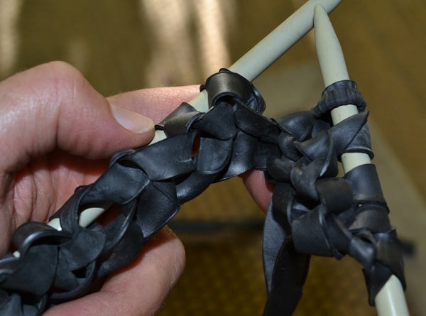 ♻ KNIT WITH INNER TUBE THREAD ♻