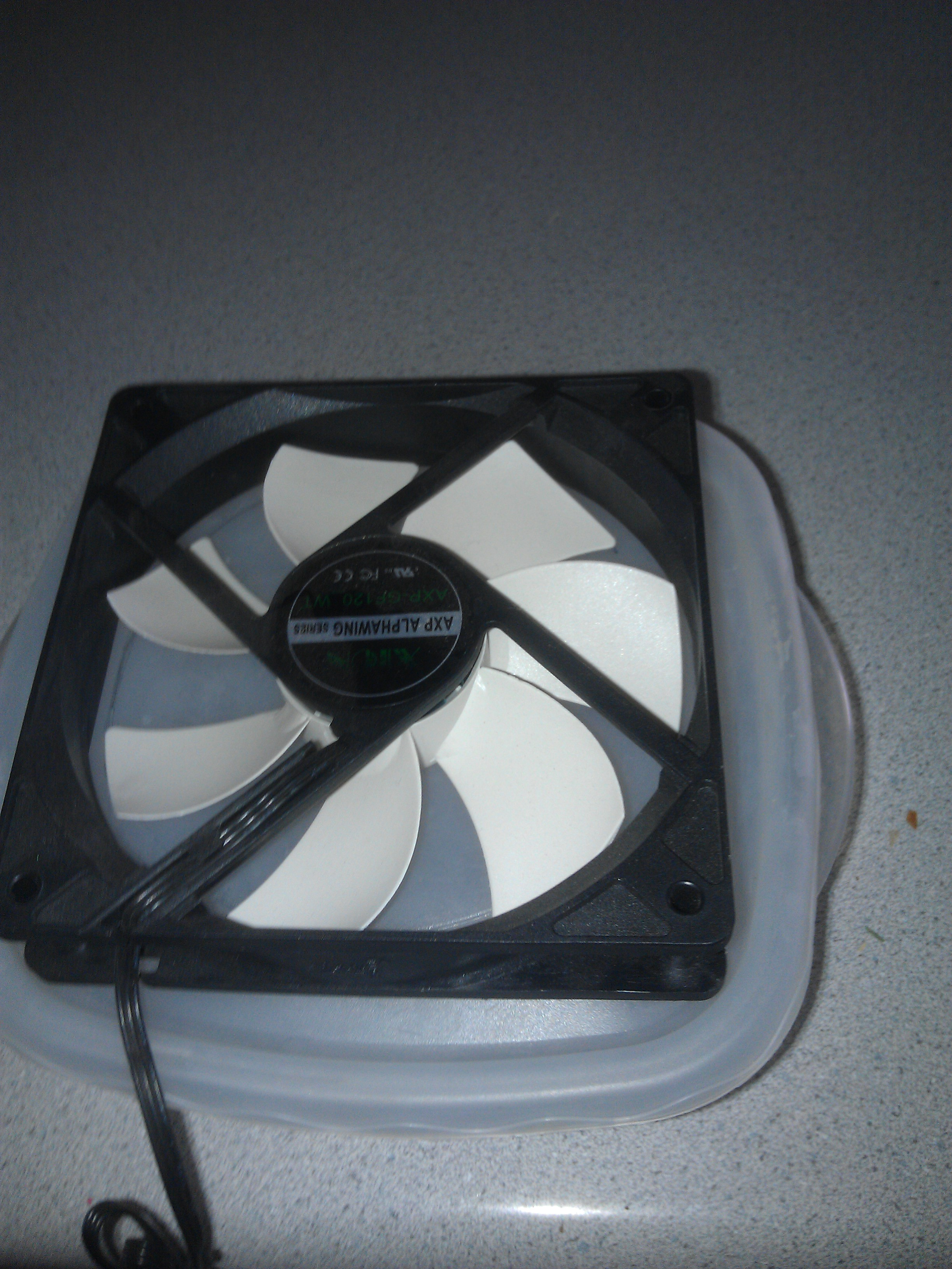 Picture of Cut Hole for Fan