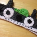 Easy Crocheted Totoro Headband