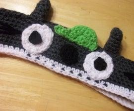 Easy Crocheted Totoro Headband