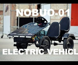 DIY Electric Vehicle (Solar Assisted)