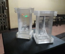 3D Eiffel Tower with Laser Cuter