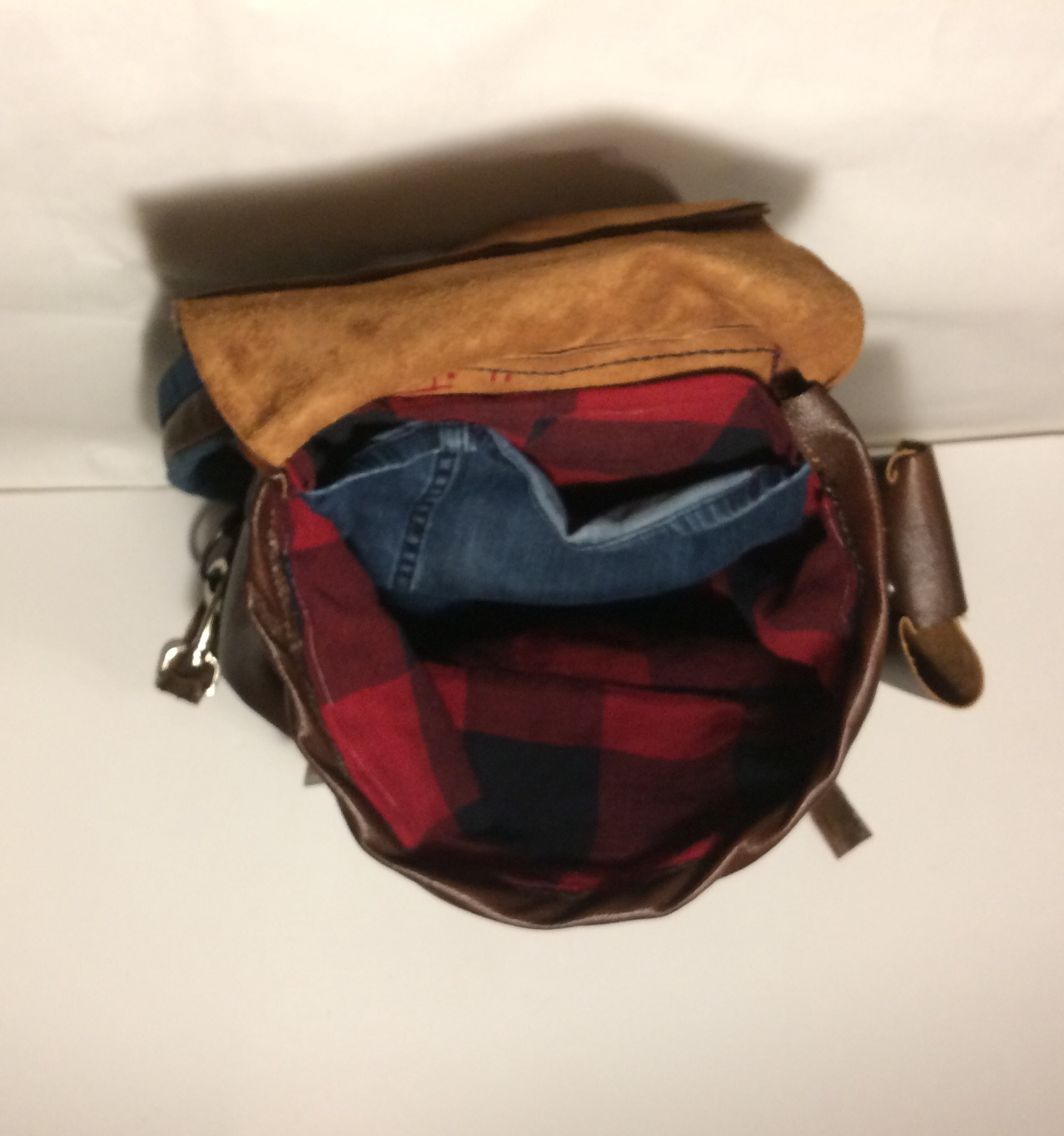 Picture of Leather Rucksack - From Leather Couch