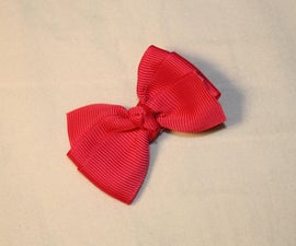 Make Your Own Hair Bows At Home