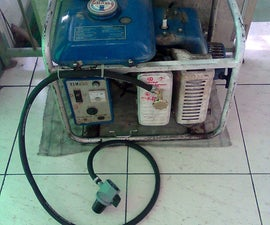Kerosene to propane generator conversion-Cheap and easy