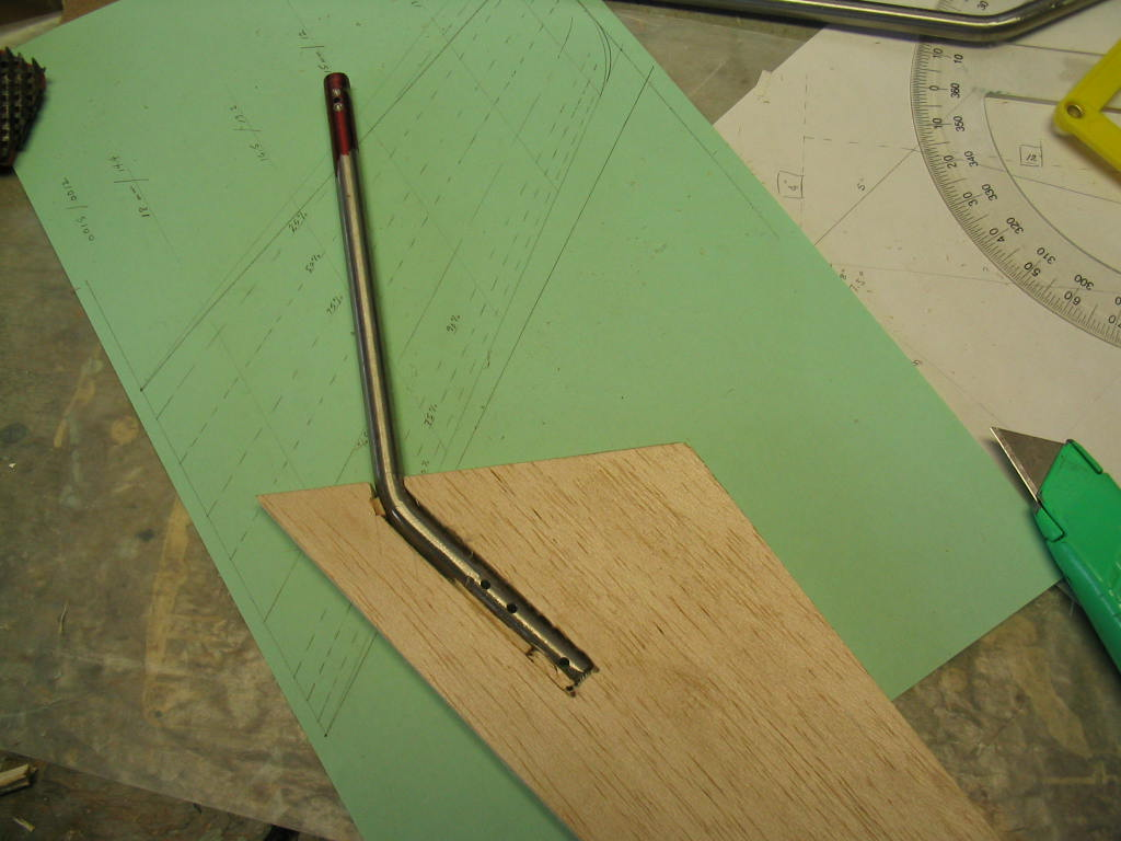 Picture of Rudder Shaft and Rough Shaping