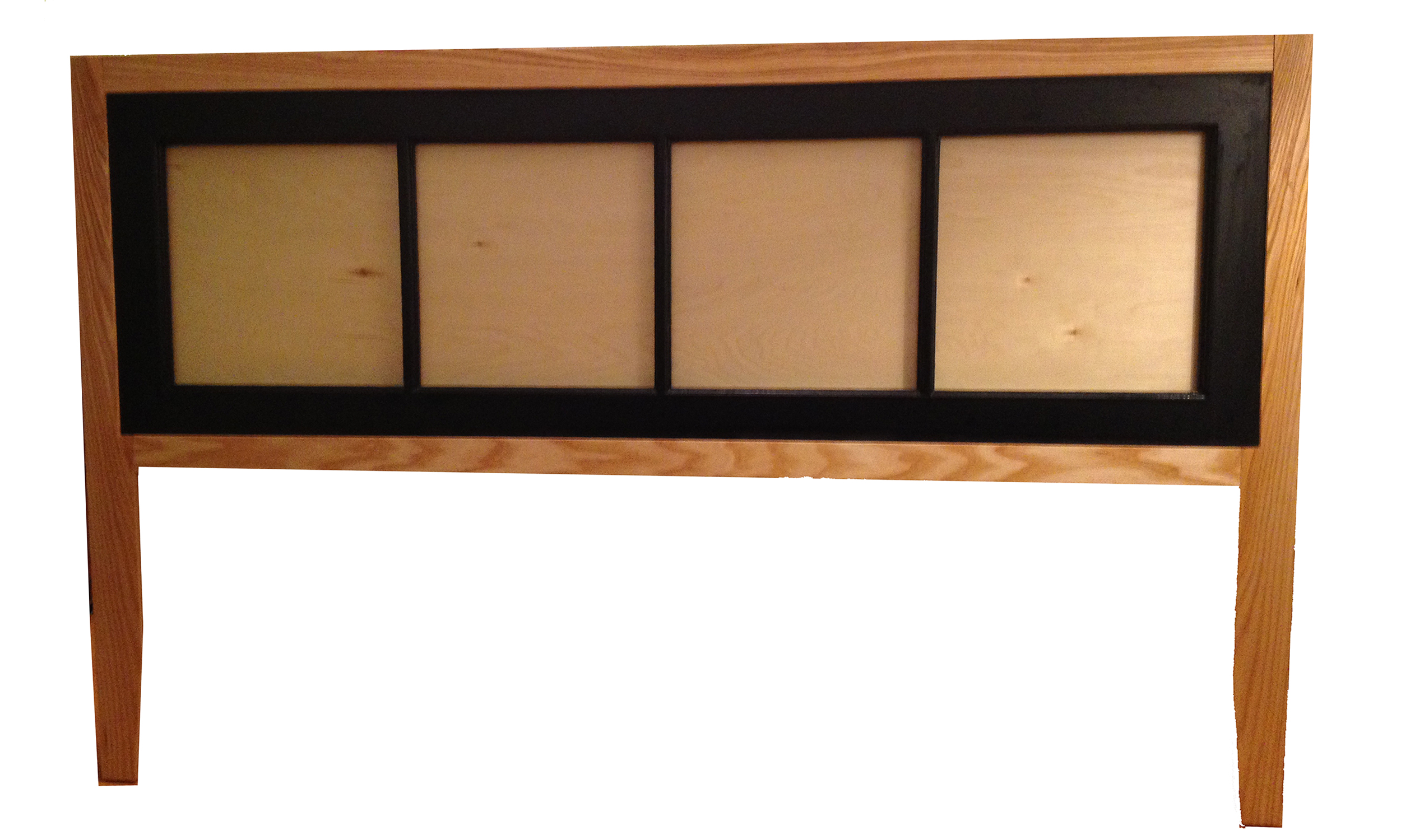 """Picture of Make a """"new"""" Headboard From an """"old"""" Window"""