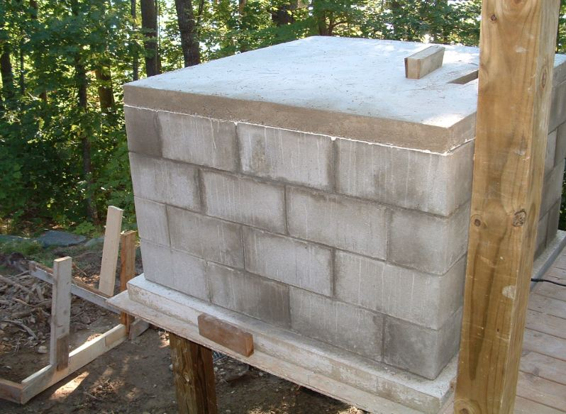 Picture of Basic Installation Instructions for DIY Wood Fired Oven Kit.