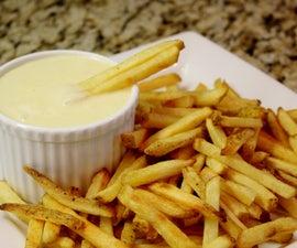 Gluten Free French Fry Fondue