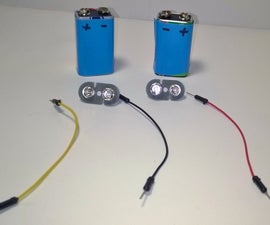 Dual Voltage Supply (9V Batteries)