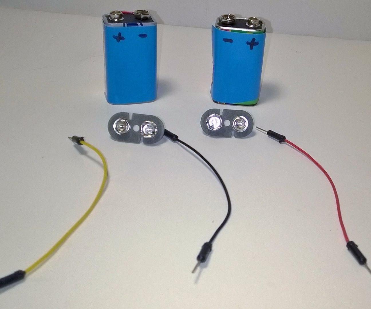 Dual Voltage Supply 9v Batteries 4 Steps Positive To Negative Converter