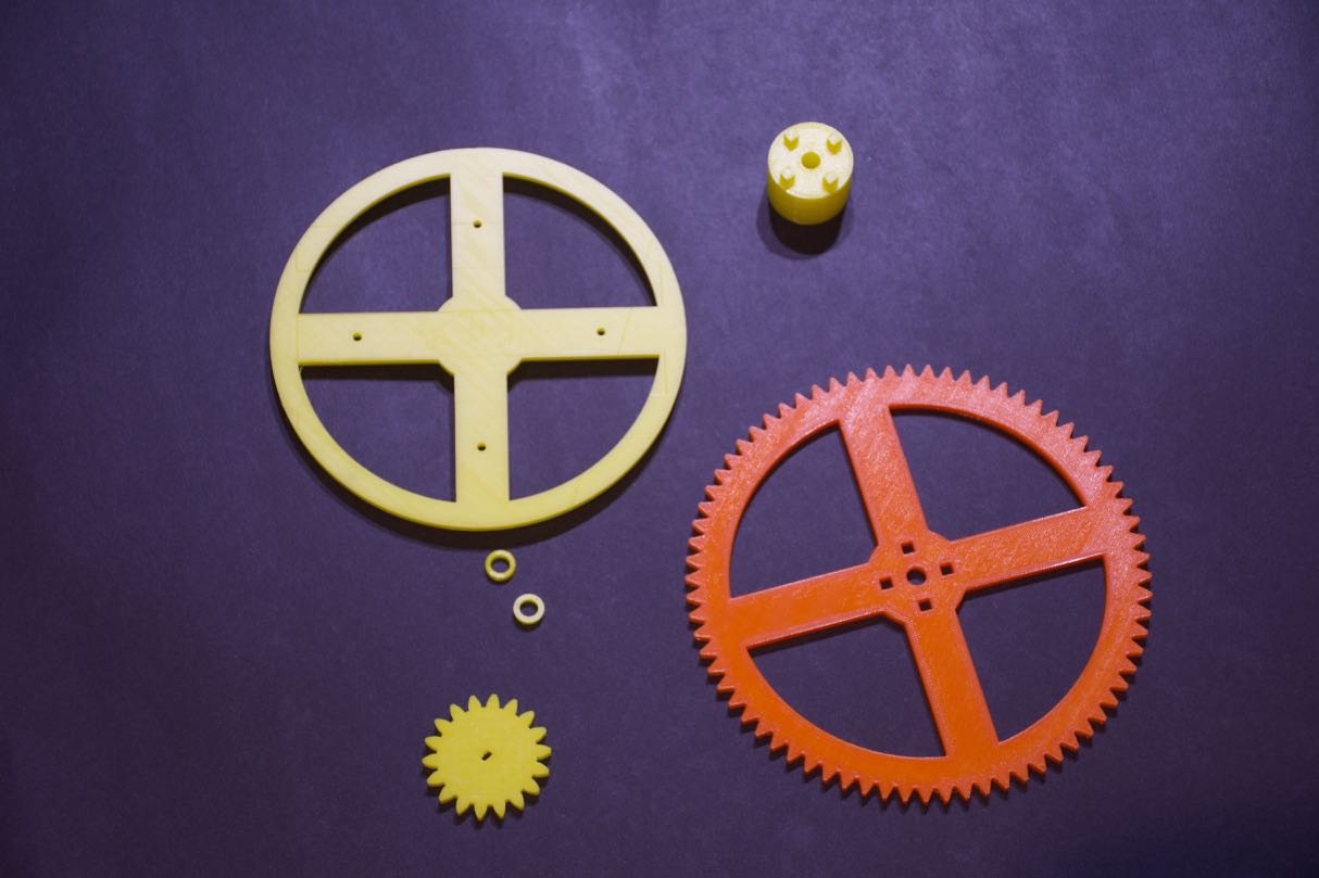 Picture of Print the Gears and Plastic Parts