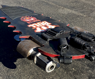 Back to the Future 2: Pitbull Hoverboard