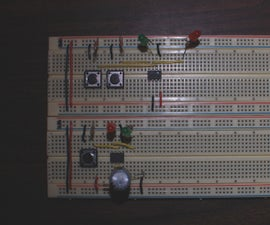 555 Timer Mono-stable and Bi-stable modes
