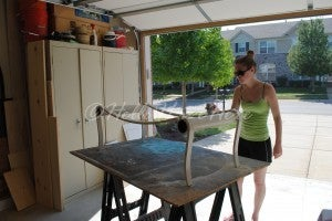 Paint the Table Frame