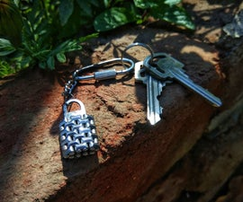 Make Cool Looking Keychain for Your Keys