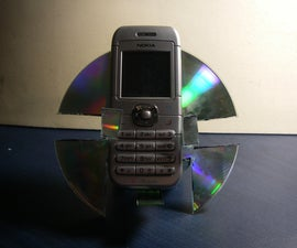 CD Cell Phone Stand