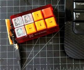 Mini USB Keyboard With a $7 Microcontroller