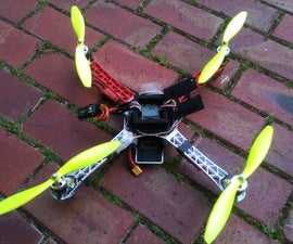 Building Quadcopters, Drones and Uav's- A explanation and easy build of a basic Quad.