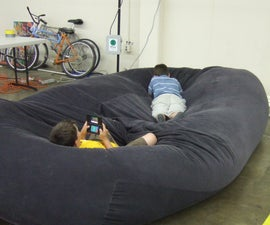 bean bag sofa / bed