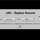 LIRC - LabVIEW - Remote Replacement