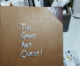 The Great Art Quest Binder