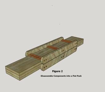 Flat Pack Shelf